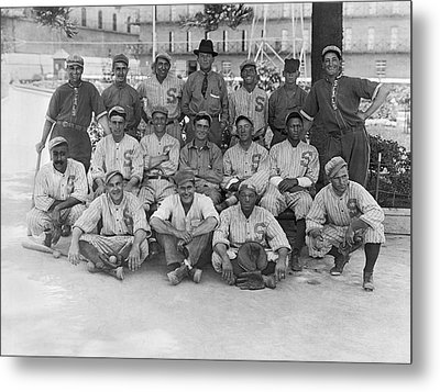 1919 San Francisco Seals Team Metal Print by Underwood Archives