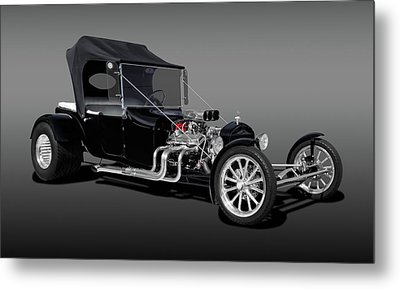 1923 Ford T-bucket  -  1923fdtbucfa9555 Metal Print by Frank J Benz
