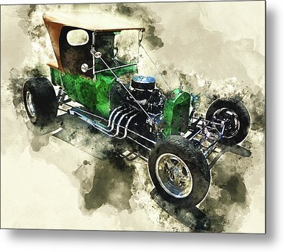 1923 Ford T-bucket Metal Print