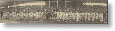 1924 Negro League World Series. Players Metal Print by Everett
