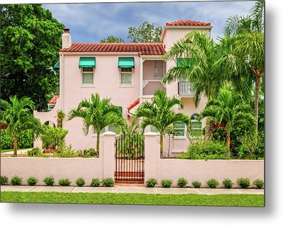 Metal Print featuring the photograph 1926 Northern Italian Renaissance Style Home  -  1926flnoitalrennas172168 by Frank J Benz