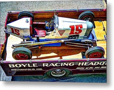 1927 Miller 91 Rear Drive Racing Car Metal Print