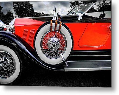 1928 Auburn 8-88 Speedster Metal Print by Jack R Perry