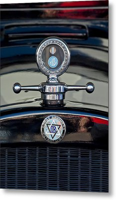 1928 Dodge Brothers Hood Ornament Metal Print by Jill Reger
