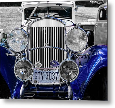 1930 Chryaler 70 Coupe Metal Print by Jack R Perry
