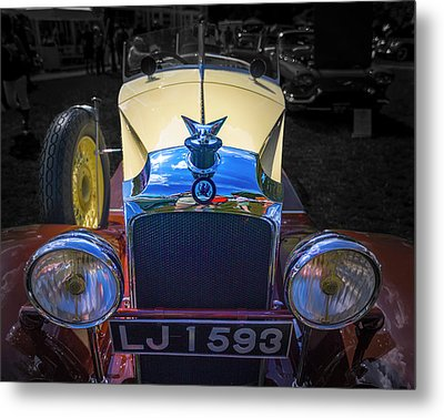 1930 Vauxhall Hurlingham Boattail Metal Print by Jack R Perry