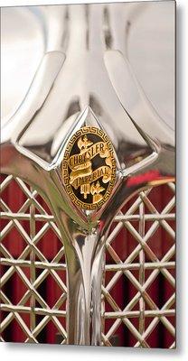 1931 Chrysler Cg Imperial Lebaron Roadster Grille Emblem Metal Print by Jill Reger