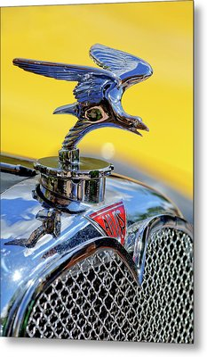 1932 Alvis Hood Ornament Metal Print by Jill Reger