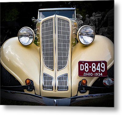 1934 Auburn 652y Metal Print by Jack R Perry