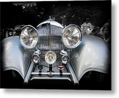 1934 Bentley Drop Head Coupe Metal Print by Jack R Perry