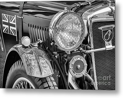 Metal Print featuring the photograph 1934 Mg Pa Roadster by Dennis Hedberg