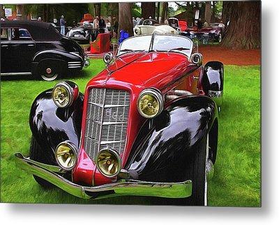 1935 Auburn Speedster 866 Metal Print