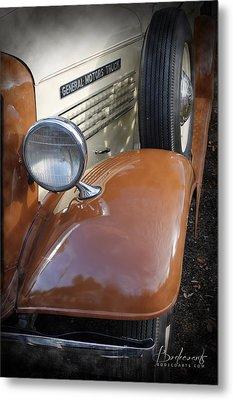 1936 Gmc Pickup Truck 2 Metal Print