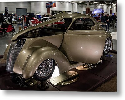 Metal Print featuring the photograph 1937 Ford Coupe by Randy Scherkenbach