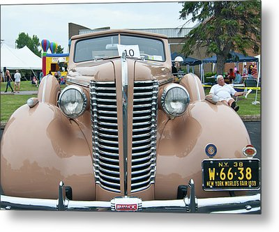 1938 Buick 2087 Metal Print by Guy Whiteley