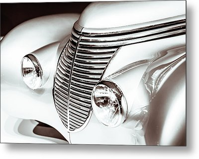 1938 Hispano-suiza H6b Xenia Front Metal Print by Wade Brooks