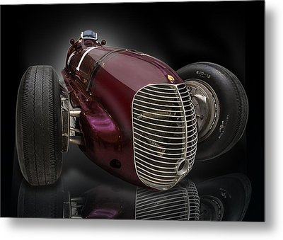 1939 Maserati 8ctf Indy Racer Metal Print by Gary Warnimont
