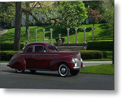 1940 Mercury Coupe Metal Print by Tim McCullough