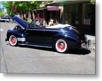 1941  Chevrolet Convertable Metal Print by Ansel Price