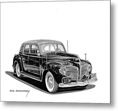 1941 Dodge Town Sedan Metal Print by Jack Pumphrey