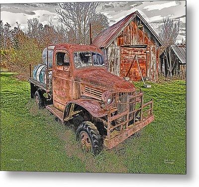1941 Dodge Truck #2 Metal Print