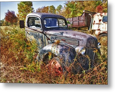 1941 Ford Truck Metal Print by Mark Allen