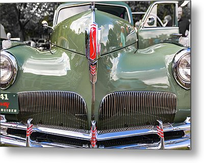 1941 Studebaker Commander Land Cruiser Metal Print by Jack R Perry