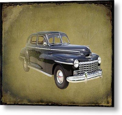 1946 Dodge D24c Sedan Metal Print