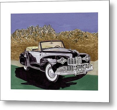 1947 Lincoln Continental Mk I Metal Print by Jack Pumphrey