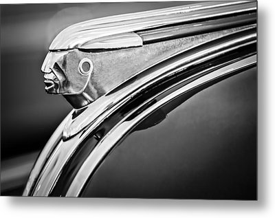 1948 Pontiac Chief Hood Ornament 2 Metal Print