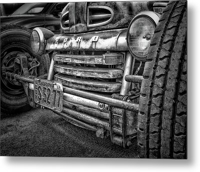 1949 Ford Metal Print by Larry Marshall