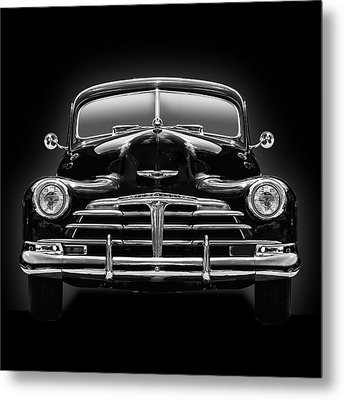1950 Chevy Metal Print by Gary Warnimont