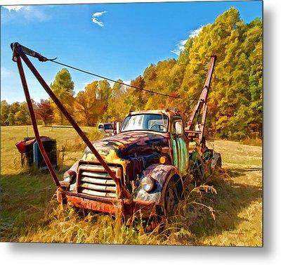 1950 Gmc Truck Metal Print