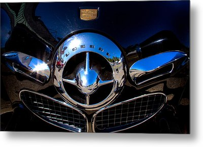 1950 Studebaker Champion Metal Print by David Patterson