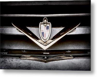 1952 Lincoln Derham Town Car Grille Emblem -0427ac Metal Print