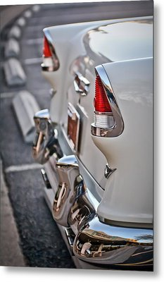 1955 Chevrolet Belair Tail Lights Metal Print
