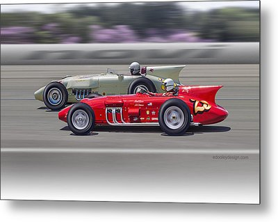 1956-57 Novi Replica Roadsters Metal Print