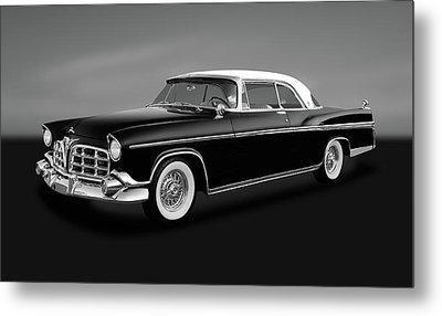 Metal Print featuring the photograph 1956 Chrysler Imperial Southampton   -   1956chrysimperialgry170226 by Frank J Benz