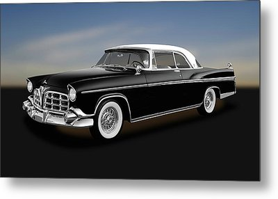 Metal Print featuring the photograph 1956 Chrysler Imperial Southampton   -   1956chryslerimperial170226 by Frank J Benz