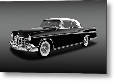 Metal Print featuring the photograph 1956 Chrysler Imperial Southampton   -   1956imperialhardtopfa170226 by Frank J Benz