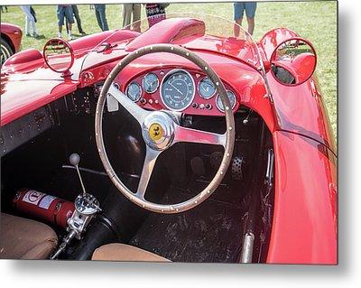 Metal Print featuring the photograph 1956 Ferrari 290mm - 4 by Randy Scherkenbach