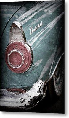 1956 Ford Thunderbird Taillight Emblem -0382ac Metal Print by Jill Reger