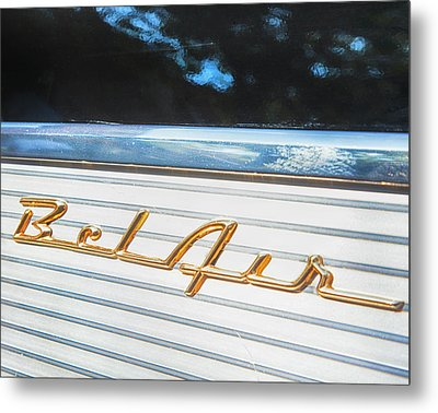 Metal Print featuring the photograph 1957 Chevrolet Bel Air by Theresa Tahara