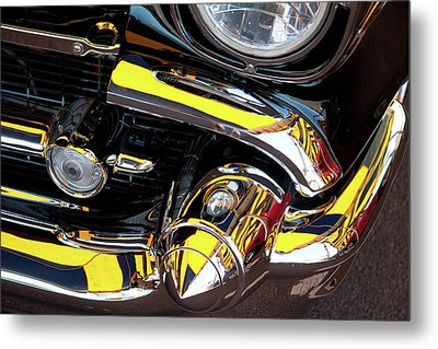 Metal Print featuring the photograph 1957 Chevy by Roger Mullenhour