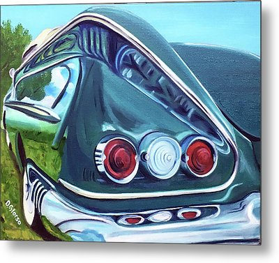 1958 Reflections Metal Print