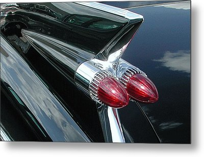 1959 Caddy Fin Metal Print
