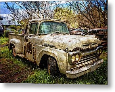 1960 Ford Truck Metal Print