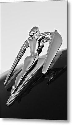 1960 Nash Metropolitan -0854bw Metal Print