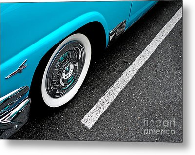 Metal Print featuring the photograph 1958 Ford Crown Victoria by M G Whittingham