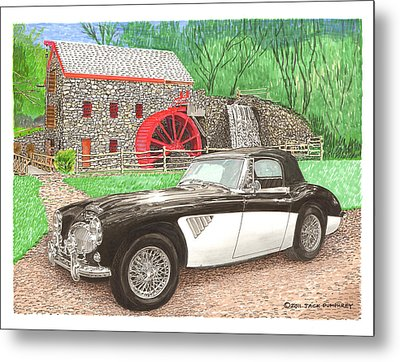1963 Austin And Sudbury Mill Metal Print by Jack Pumphrey